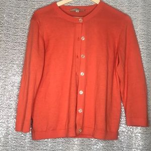 Coral Cardigan - Great Condition!